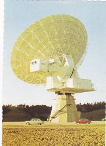Satellite Dish, Post Office Satellite Earth Station, Warkworth, New Zealand, ...