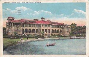 Michigan Detroit Casino Belle Isle Park 1925