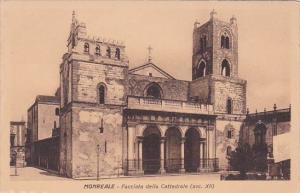 Italy Monreale Facciata della Cattedrale