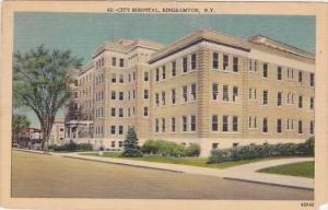 City Hospital Binghamtom New York 1949