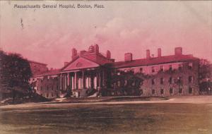 Massachusetts Boston Massachusetts General Hospital 1908