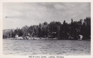 RP: LORING, Ontario, Canada; Par-O-Lin's Camps, 30-50s