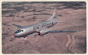 Airplane of AMERICAN AIRLINES , 1950s #2