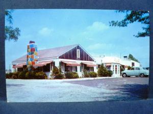 Postcard NJ Pennsauken Kents Chimney House Restaurant
