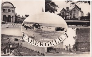 Abergele Pontre Mawr Park Real Photo Welsh Postcard