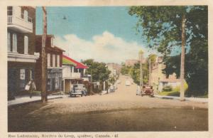 Rue Lafontaine , RIVIERE DU LOUP , Quebec , Canada , 1930s, PU later in 1955