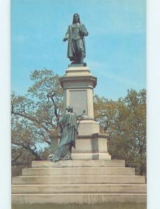 Unused Pre-1980 MONUMENT SCENE Providence Rhode Island RI F1947