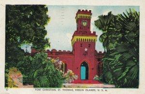 Fort Christian , ST THOMAS , Virgin Islands , U.S.A. , 1955