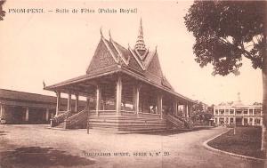 Pnom Penh Vietnam, Viet Nam Salle de Fetes, Palais Royal Pnom Penh Salle de F...