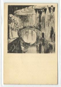 Dutch Symbolist JAN TOOROP - Bridge of Devine Love