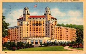 Arkansas Hot Springs New Arlingon Hotel 1946 Curteich