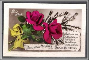 Birthday Wishes To My Dear Sister Roses [MX-193]