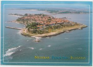 Nessbar, Nesebar, Black Sea, Bulgaria, used Postcard