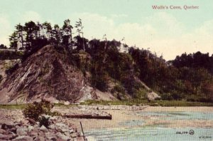 CANADA QUEBEC WOLFE'S COVE VALENTINE & SONS