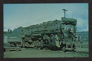 NY New York Central Railroad Train Loco 2761 Harmon New York Postcard RR PC