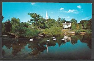 Massachusetts, Sandwich - Shawame Pond - First Church of Christ - [MA-199]