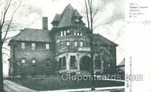 Nathan Littauer Hospital, Gloversville, NY Medical Hospital, Sanitarium Postc...