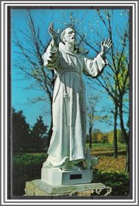 US #2023 St Francis Postcard FDC