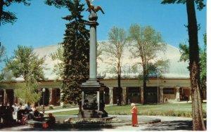 US    PC3938  MORMON TABERNACLE & SEAGULL MONUMENT, SALT LAKE CITY, UTAH