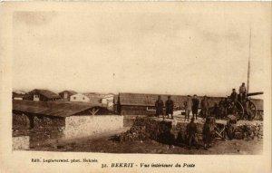 CPA AK MAROC MECHRA-BEN-ABBOU - Les baraquements sur la rive Chaouia (219513)