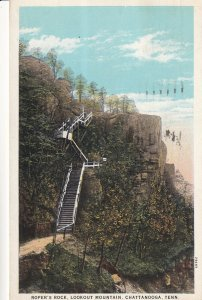 CHATTANOOGA Tennessee, PU-1933; Roper's Rock, Lookout Mountain