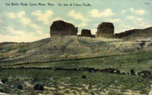 Tea Kettle Rock - Green River, Wyoming