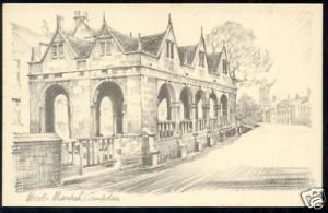 gloucestershire, CAMPDEN, Wool Market (ca. 1930)