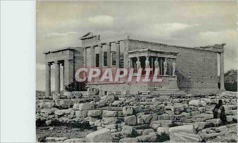 Postcard Modern Athens The Erechtheum