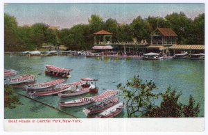 Boat House in Central Park, New York