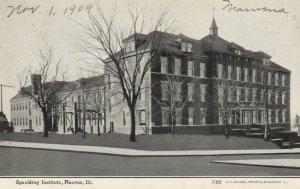 NAUVOO, Illinois, 1909; Spaulding Institute