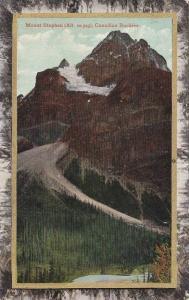 Mount Stephen (Alt. 10,523), Canadian Rockies, British Columbia, Canada, 1910...