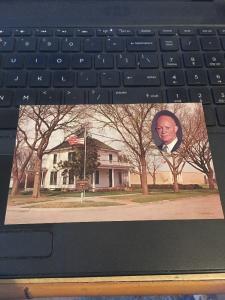 Vtg Postcard: Eisenhower Home And Museum