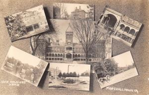 Marshalltown Iowa~Civil War Soldiers Home~Old Veterans~Multi Mini View~1912 RPPC