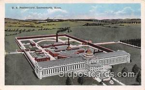 US Penitentiary Leavenworth, Kansas USA Prison Postcard Post Card Leavenworth...