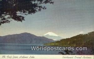 Mt Fuji Japan Hakone Lake  Hakone Lake