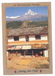 Mt Machapuchre , Pokhara , Nepal, 50-70s #2