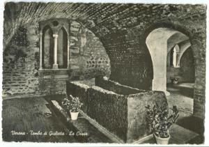Italy, Verona, Tomba di Giulietta, La Cripta, unused Postcard