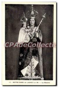 Old Postcard Our Lady of the Madonna LAGHET