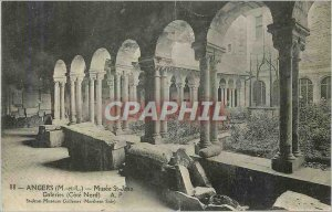 Old Postcard Angers (M and L) Museum Galeries St John (North Coast) A P