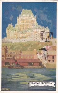 Chateau Frontenac , Quebec , Canada , PU-1930 Poster Art