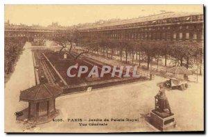 Postcard Old Paris Jardin du Palais Royal Vue Generale