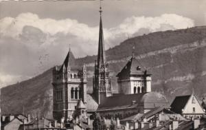 RP, Les Tours De La Cathedrale De St. Pierre, GENEVE, Switzerland, 1920-1940s
