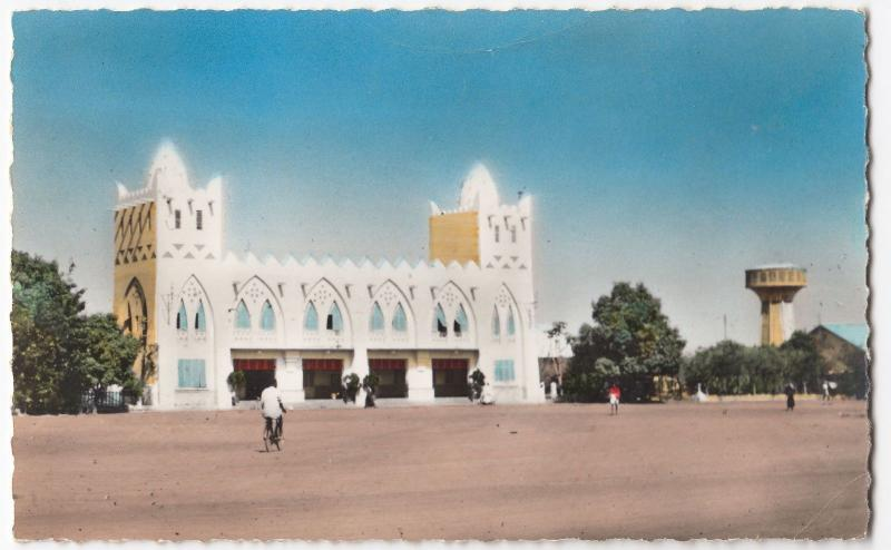 Burkina Faso; Bobo Dioulasso, Rail Station & Water Tower RP PPC, Unposted