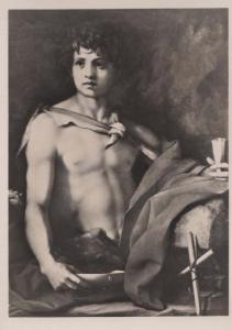 Andrea Del Sarto Battista Pitti Art Gallery Italian Antique Painting Postcard
