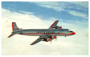 American Airlines The mercury DC-7