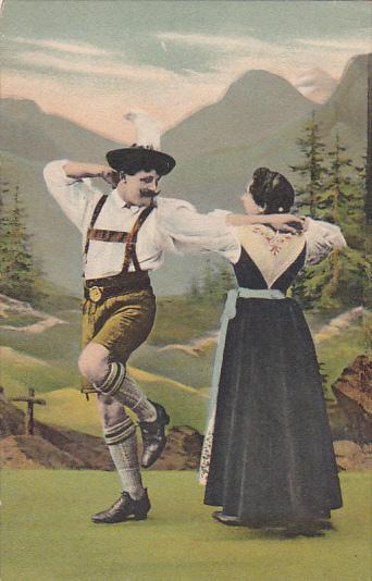 Dance Austria National Dance & Costume 1926