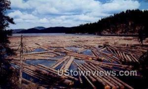 Log Storage Lake Coeur d'Alene ID Unused