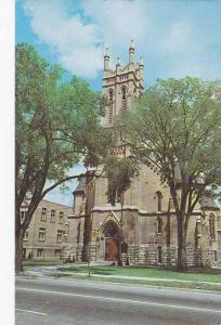 Exterior, George Street United Church, Peterborough, Ontario,  Canada,  40-60s