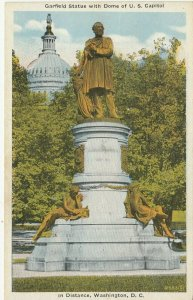 WASHINGTON D.C. , 1910s ; Garfield Statue
