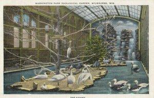 MILWAUKEE , Wisconsin , 1910-20s ; Washington Park Zoo , The Aviary